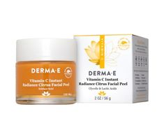 Vitamin C is the perfect skincare ingredient & DERMA E has developed our Vitamin C Instant Radiance Citrus Facial Peel. Our Vitamin C Peel helps brighten & tone skin! Even Out Skin Tone, Alpha Hydroxy Acid, Glycolic Acid, Skin Brightening, Vitamin C, Skin Care, Facial Toner, Korean Skincare, Skincare Routine