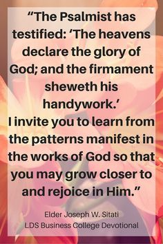 Kenny Mays LDS Business College Devotional Quote CLICK IMAGE To Read The Full