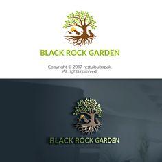 """Black Rock Garden "" homestay need a logo! by restuibubapak"
