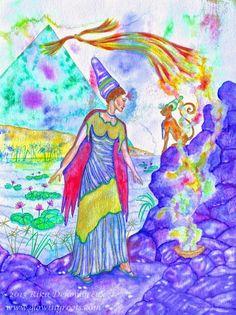 De Intuïtieve Kunst van Rika Dehombreux: Het Spirituele Aspect van Intuïtieve Kunst