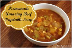 Amazing Beef Vegetable Soup Recipe