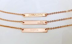 Unique custom gift by TheInfinityMemories Hand Stamped Necklace, Customized Gifts, Arrow Necklace, Etsy Seller, Unique Jewelry, Personalized Gifts, Costume Jewelry