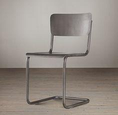 Metal Schoolhouse Side Chair Restoration Hardware $130/ea
