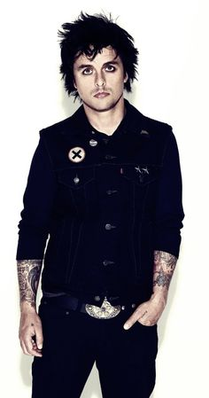Billie Joe Armstrong of Green Day (my daughter's first real crush, lol)