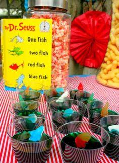 Dr Seuss jello cups