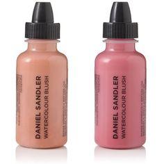 Watercolour Fluid Blush, Water Resistant Professional Blusher   Daniel Sandler Makeup