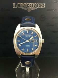 """LONGINES COMET AUTOMATIC CALIBRE AS1916 """"VINTAGE 1970"""" Seiko, Omega Watch, Ebay, Accessories, Vintage"""