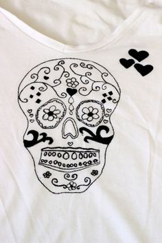 DIY : customiser un vieux t-shirt trop basique - Agenda de la Nantaise