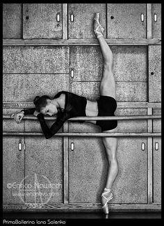 Iana Salenko (Staatsballet Berlin), photo by Enrico Nawrath.