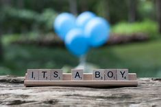 Baby Reveal. Simple. I like this!