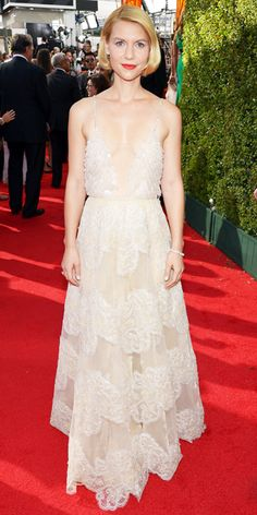 The Sexiest Emmys Looks Ever - Claire Danes, 2013 from #InStyle