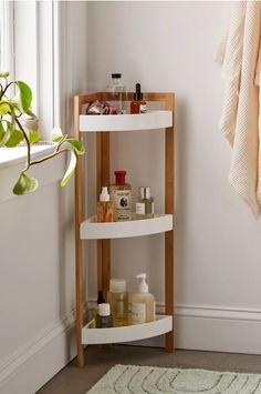 Corner Storage Shelves, Bathroom Storage Shelves, Crate Storage, Door Storage, Wall Shelves, Shelving, Bathroom Organization, Circle Wall Shelf, Small Wall Shelf