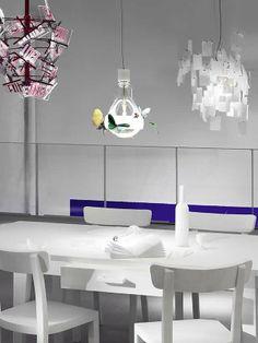 Suspension lamp JB Schmetterling from Ingo Maurer from Germany photo 3 Lighting Concepts, Lighting Design, Pendant Lighting, Chandelier, Ingo Maurer, Lighting System, News Design, Light Fixtures, New Homes