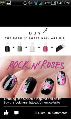 Rock n roses