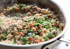 Beef Cauliflower Fried RiceDelish