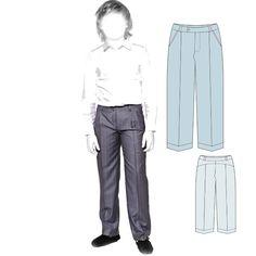 Schnittmuster für Anzughose  Gr. 128 - 170 http://materials.tell4all.ru/vykrojka-klassicheskix-bryuk-so-strelkoj-dlya-malchika/ Выкройка классических брюк со стрелками для мальчика
