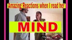 Amazing Reaction from Girl! Impossible Mind Reading with AspaVine✔