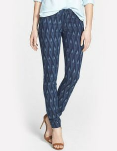 MARC BY MARC JACOBS Gaia Print Super Skinny Jeans Diamond Flame