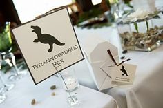 Different dinosaurs for different tables!? Pinned this specifically for @Rachel Skowronek