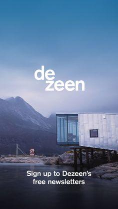 "Little Sky ice cream shop aims to capture the ""theatre of gelato"" Casa Wabi, Grande Hotel, Casas Containers, Villa, Ground Floor Plan, House Extensions, Eindhoven, Skylight, Tulum"