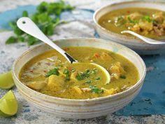 Thailandsk hønsesuppe Soup, Ethnic Recipes, Cilantro, Soups