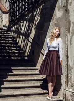 Flannel, Tulle, Stylish, Skirts, Instagram, Fashion, Atelier, Flannels, Moda