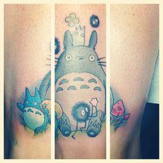 My totoro tattoo