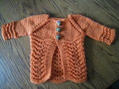 Lillie Baby Cardigan  free pattern