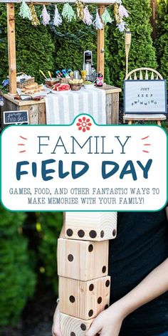 Family Field Day! Sports may be canceled, and school may not be in-person, but you can STILL celebrate the spirit of kickoff season with a Family Field Day—in your own backyard! #simplyrecipes #familyfun #fieldday #gamefood Cheesy Pull Apart Bread, Field Day Games, Yard Dice, Kid Picks, Family Get Together, Summer Grilling Recipes, Simply Recipes, Easy Recipes, Seasons Of Life
