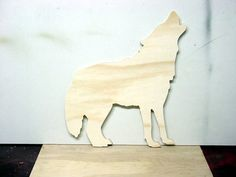 Wolf Cutout Shapes Crafts by Woodfromtexas on Etsy