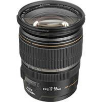 """The 17-55 is an """"S"""" lens and only works with the Canon bodies that have a 1.6 field. Kim loves to shoot with this one."""