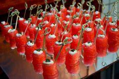 Watermelon ao creme azedo e especiarias. #CaptainsBuffet