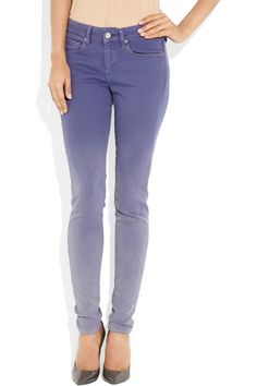 Levi's Made & Crafted | Empire ombré mid-rise skinny jeans | NET-A-PORTER.COM