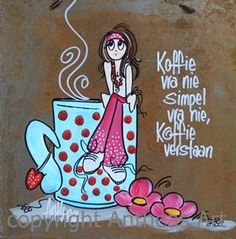 Lekker Dag, Afrikaanse Quotes, Morning Inspirational Quotes, Painting Quotes, Diy Art Projects, Letter Stencils, Vintage Tags, Birthday Images, Fabric Painting