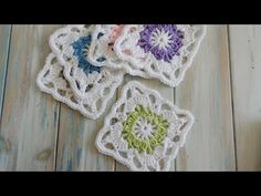 How To Crochet a Vintage Granny Square - YouTube