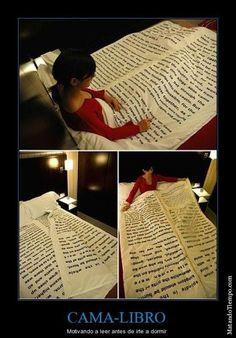 La cama-libro :)
