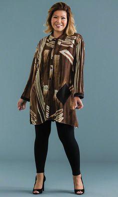 Brynlee Tunic / MiB Plus Size Fashion for Women / Winter Fashion / http://www.makingitbig.com/product/5039
