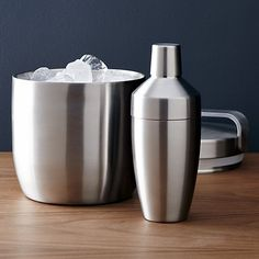 Carter Double-Walled Ice Bucket | Crate and Barrel