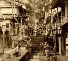 Japan 1904 tumblelog from ota-ku, tokyo Japanese History, Asian History, Japanese Culture, Photo Japon, Japan Photo, Old Pictures, Old Photos, Cultures Du Monde, Japon Tokyo