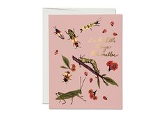 Little Bugs card by Red Cap Cards