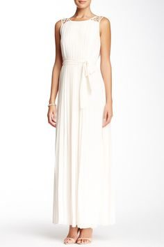 Pleated Maxi Dress by Jessica Simpson on @nordstrom_rack
