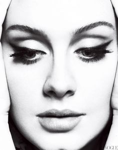 I love this portrait photography of Adele.  So simple and beautiful.  And artistic.