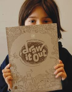 Draw It Out grief book | Cover design by SERGE SEIDLITZ