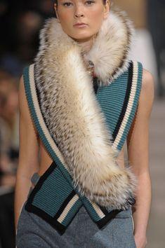 Fur scarf- follow us www.helmetbandits.com like it, love it, pin it, share it!