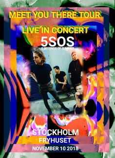 5SOS Meet You There Tour Rock Music Band Star Cover Poster Art Decoration
