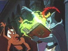Disney's Gargoyles (1994-1997) - Brooklyn and Demona