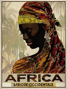 Reisposters Afrika
