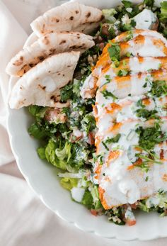Easy Salads, Healthy Salad Recipes, Healthy Chicken Recipes, Vegetable Recipes, Whole Food Recipes, Dinner Recipes, Chicken Treats, Healthy Dinners, Easy Dinners