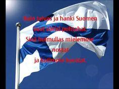 Suomi Lippulaulu + Sanat Finnish Independence Day, Finnish Words, Best Cities, Finland, Craft, Creative Crafts, Crafting, Handmade, Do It Yourself
