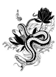 100 Japanese Tattoo Designs I By Jack Mosher Aka Horimouja Irezumi Tattoos, Tatuajes Irezumi, Body Art Tattoos, Tribal Tattoos, Small Tattoos, Sleeve Tattoos, Sketch Tattoo Design, Tattoo Sketches, Tattoo Drawings